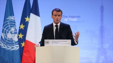 Macron aclara a Trump: Ser un aliado no significa ser un vasallo