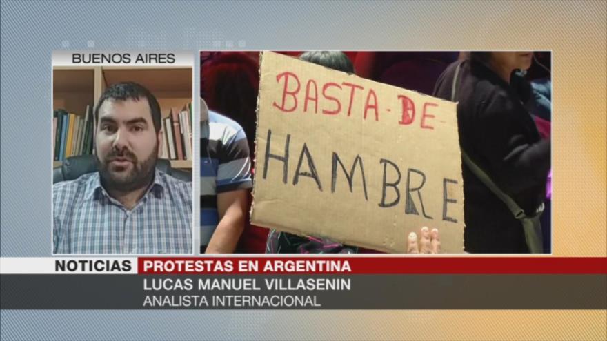 Villasenin: Acuerdo Macri-FMI empobrece a mayoría de argentinos