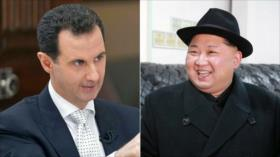 """Corea del Norte elogia éxitos de Siria ante """"invasores israelíes"""""""
