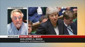 Makin: Brexit ha puesto en juego el liderazgo de May