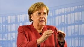Merkel: El peor escenario sería un Brexit sin acuerdo