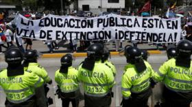 Colombia vive nueva jornada de marchas contra reformas de Duque