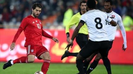 Irán se impone 1-0 a Trinidad y Tobago en un amistoso