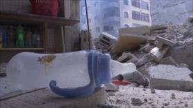 Bombas de Israel alcanzan un jardín de infancia en Gaza