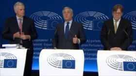 Reacciones internacionales al acuerdo de divorcio de Londres y UE