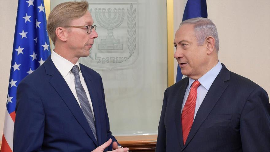 Enviado de EEUU se reúne con Netanyahu y promete más presión a Irán