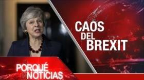 El Porqué de las Noticias: Brexit, terremoto político para May. Ataques aéreos en Siria. Penas de muerte en caso Khashoggi