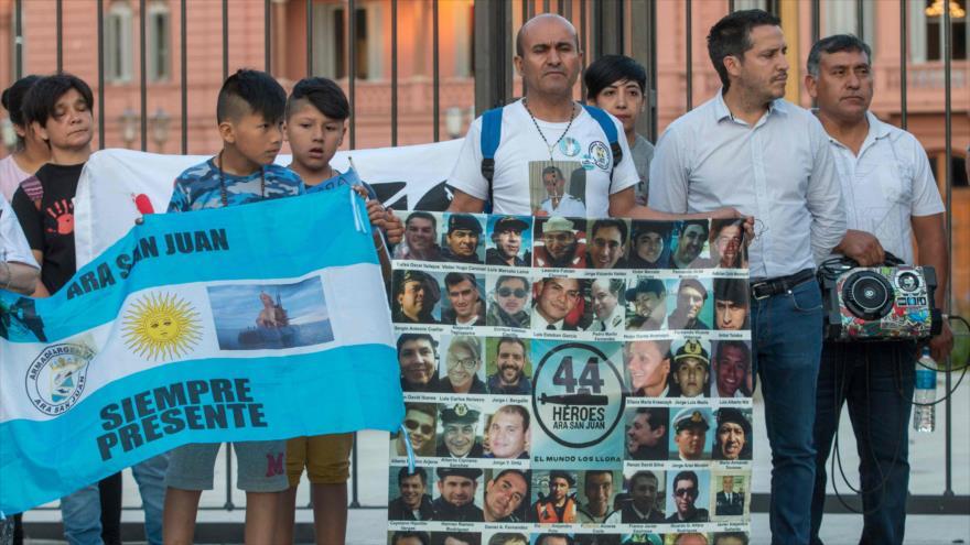 Familiares de víctimas de ARA San Juan acusan a Gobierno de mentir | HISPANTV