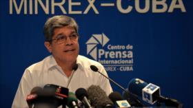 Cuba tacha de 'desafío' mundial las sanciones de EEUU en su contra
