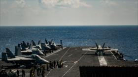Llega a Mediterráneo un portaviones de EEUU con su grupo de ataque