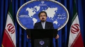 Irán condena aprobación de la 'politizada' resolución sobre DDHH