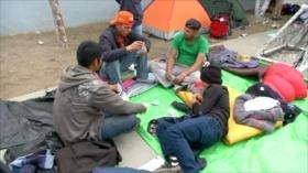 Caravana de migrantes llega a la ciudad mexicana de Tijuana