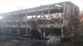 Accidente de autobús deja 47 muertos en Zimbabue
