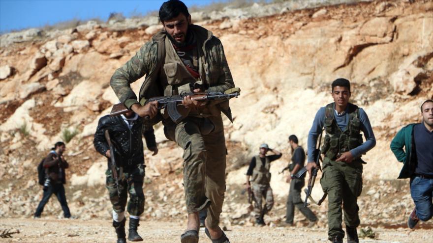 Rusia: 6000 'rebeldes' liderados por EEUU permanecen en el sur de Siria