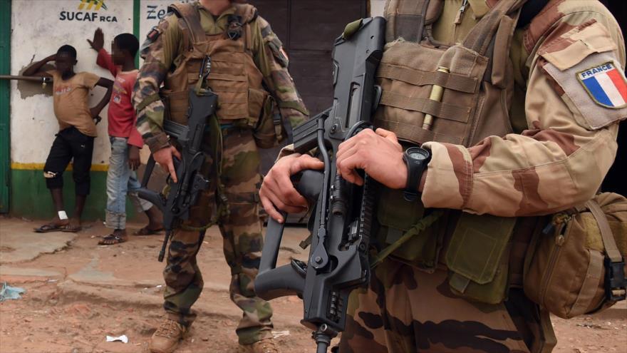 Las tropas francesas en la República Centroafricana (RCA).