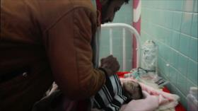 Riad acaba con la vida de un bebé yemení frente a ojos de su padre