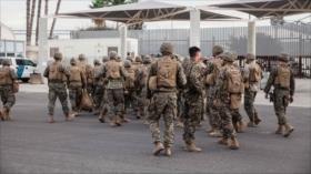 """EEUU: Contingente en frontera está """"prácticamente completo"""""""