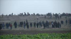 Continúa la Marcha del Retorno en Gaza contra ocupación israelí