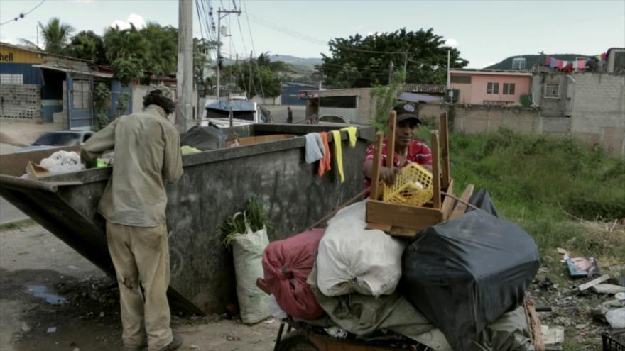 Juan Orlando Hernández no puede frenar pobreza en Honduras