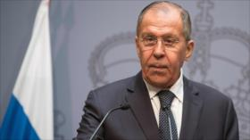 Lavrov: Occidente busca convertir a Balcanes en base antirrusa