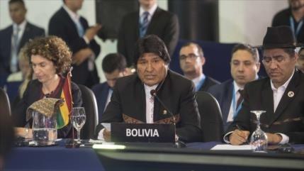 Morales achaca a EEUU la crisis migratoria y climática