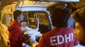 Atentado con bomba deja al menos 2 muertos en Paquistán