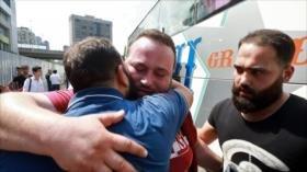 Con el avance del Ejército sirio, los refugiados retornan a su hogar