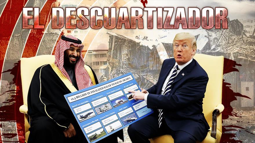 Detrás de la Razón: El asesino es el príncipe, revela la CIA, es el cerebro del descuartizamiento ¿Trump?
