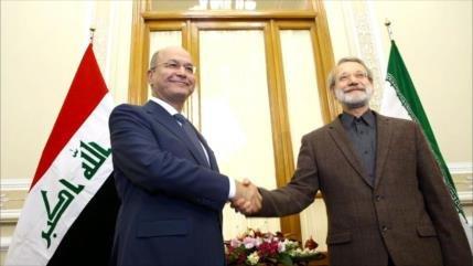 Irán ensalza la derrota de complots enemigos para golpear a Irak