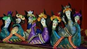 Elaboran muñecos para reavivar diferentes mitologías iraníes
