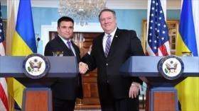 EEUU y Ucrania intentan 'frenar' proyecto Nord Stream 2 de Rusia