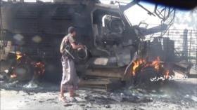 Ansarolá elimina a mercenarios saudíes y destruye sus vehículos
