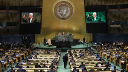 EEUU amenaza a Palestina por unirse a organismos internacionales