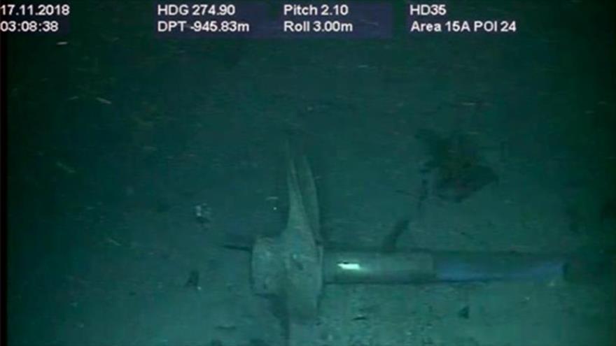 Vídeo: Hallazgo del submarino argentino después de un año