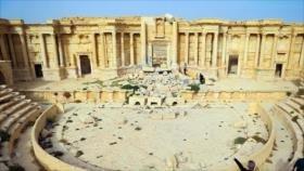 La histórica ciudad siria de Palmira vuelve a respirar