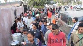 Migrantes avanzan pese al refuerzo militar en la frontera de EEUU