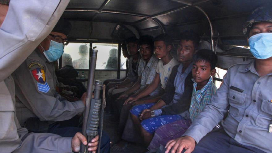 Policía birmana dispara y hiere a cuatro musulmanes Rohingya