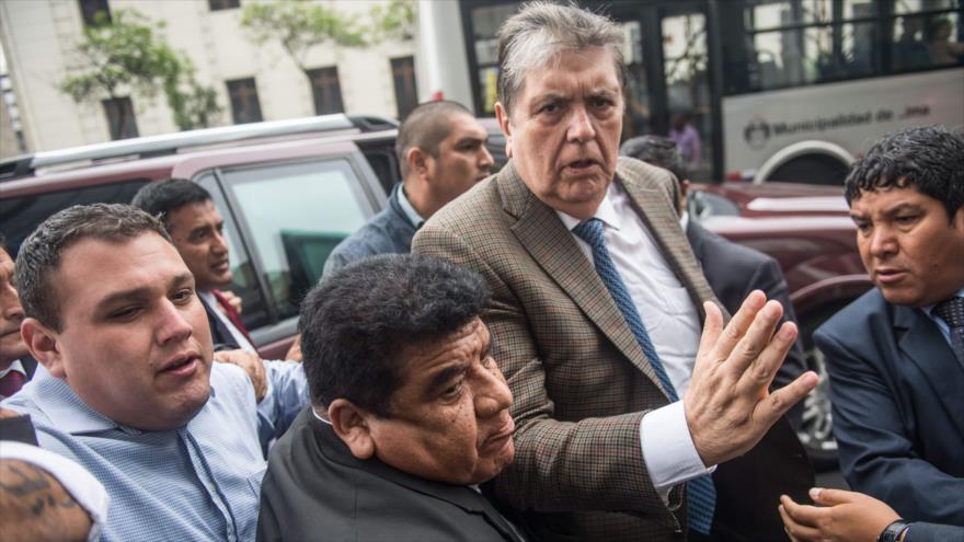 Alan García solicita asilo ante embajada de Uruguay en Lima   HISPANTV