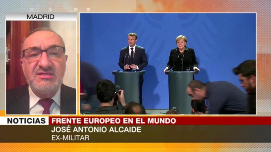 """""""Merkel y Macron hablan de 'ejército europeo' para ganar votos"""""""