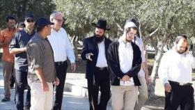 Ministro israelí y colonos irrumpen en la Mezquita Al-Aqsa