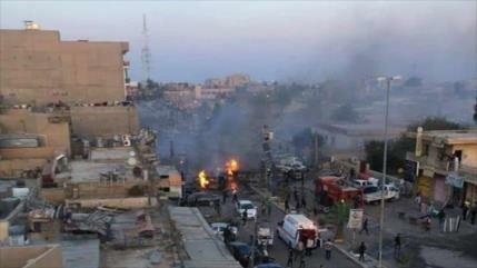 Ataque con coche bomba deja 5 muertos en el centro de Irak