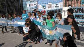 Familiares desconfían de cómo se halló el submarino argentino