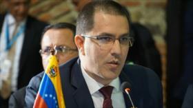 Canciller venezolano reprocha al Gobierno colombiano su oportunismo