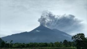 Volcán de Fuego de Guatemala, su quinta erupción en 2018