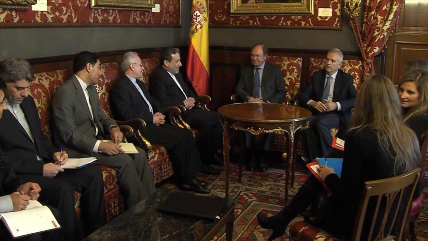 España defiende acuerdo nuclear de Irán ante sanciones de EEUU