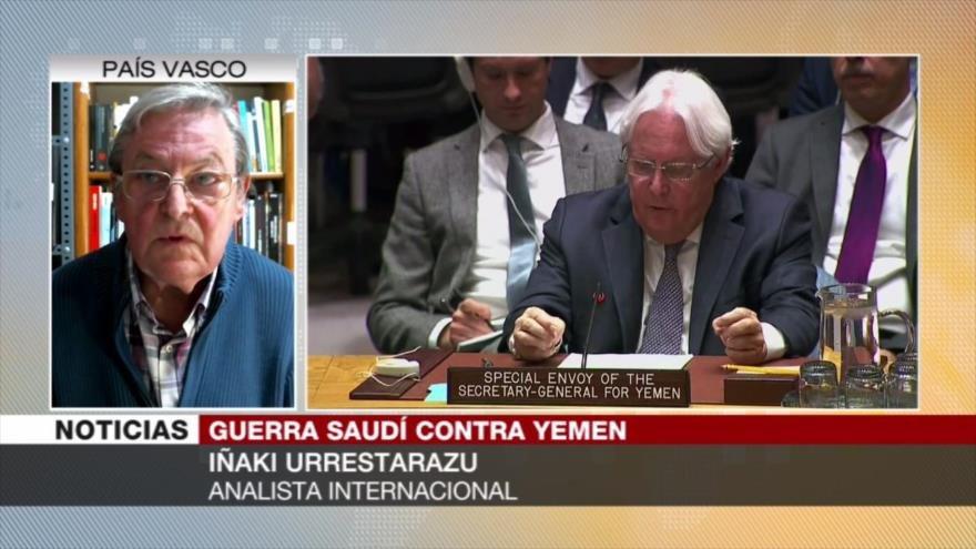 Urrestarazu: Resistencia yemení ha logrado forzar a Riad a dialogar