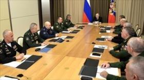 Putin advierte: Retiro de EEUU del INF no quedará sin respuesta