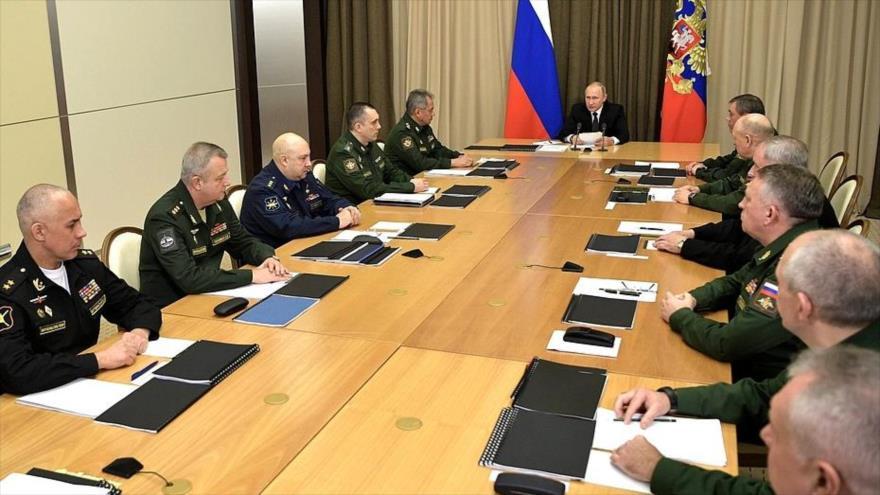Putin advierte de que retiro de EEUU del INF no quedará sin respuesta