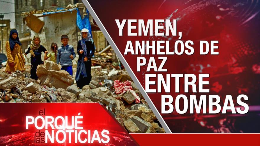 El Porqué de las Noticias: Yemen acaricia la paz. Alán García y la corrupción en Perú. Laberinto del Brexit.