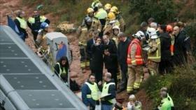 Accidente de tren en Barcelona deja un muerto y más de 40 heridos